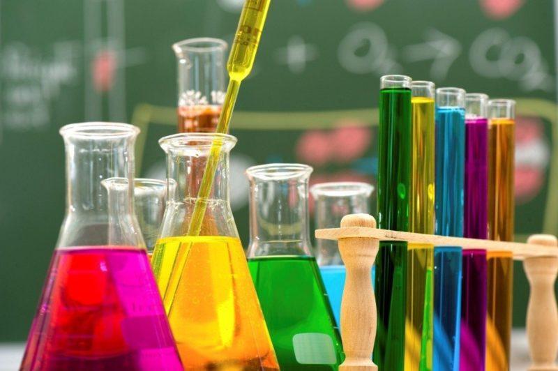 دليل التجارب مادة الكيمياء المقررات