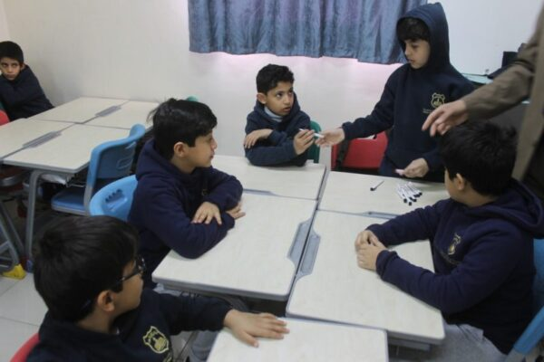 مجموعات العمل الطلابية للصفوف الاولية 1440 هـ ، 2018 م