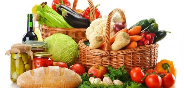 تحضير درس العناصر الغذائية تربية اسرية الخامس الابتدائي