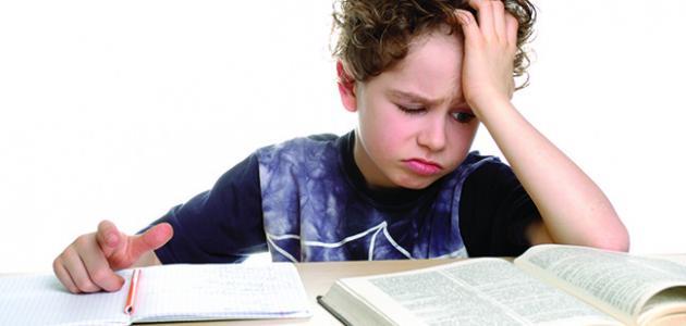 مؤشرات الضعف القرائي و الكتابي