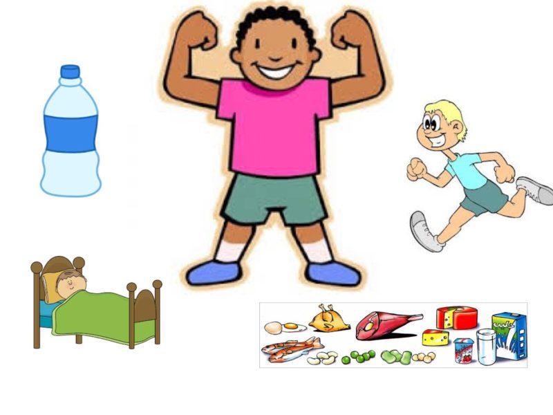 تحضير وحدة صحتي وسلامتي لرياض الاطفال