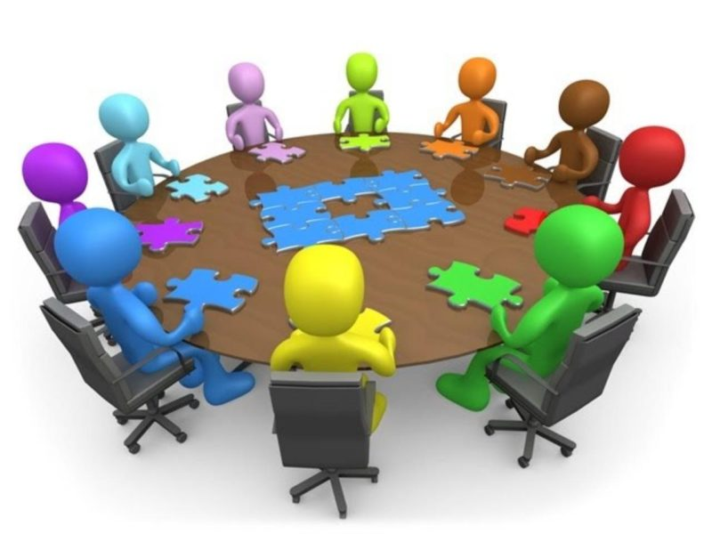 نموذج اجتماع الفريق التآزري