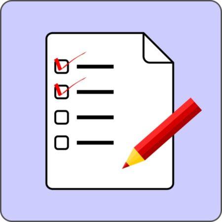 نموذج متوسط درجات الاختبارات الفصلية