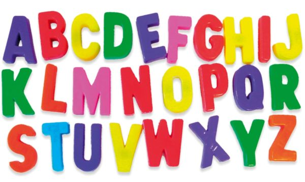 مذكرة حروف انجليزية للمرحلة الابتدائية