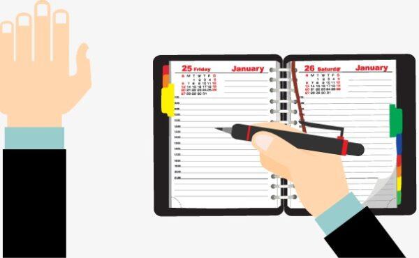 سجل العهدة المدرسية الورقي