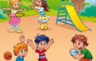نص ادبي قصير عن اطفال يلعبون في الحديقة