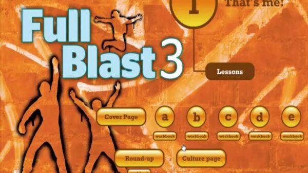 كتاب Full blast 3 الثاني المتوسط الفصل الاول 1441 هـ - 2020 م