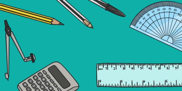 توزيع مادة الرياضيات الاول المتوسط الفصل الثاني 1441 هـ - 2020 م