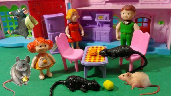 نشاط الفأر والجبن لتنمية مهارات الطفل