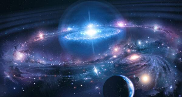 عرض بوربوينت عن الفضاء والنجوم والمجرات