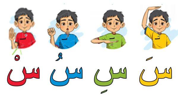 تعليم الاطفال الحروف المفتوحة لمستوى كي جي1