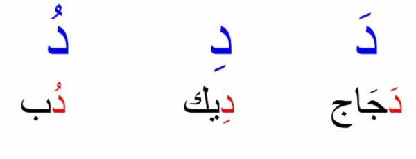 تعليم الحروف بالحركات الثلاث للصفوف الاولية 1443 هـ - 2022 م