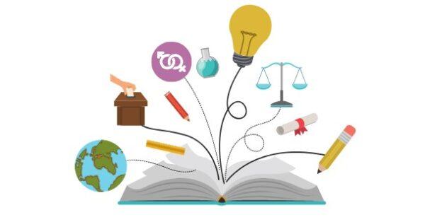 مطوية اسبوع التهيئة المدرسية - بنات 1443 هـ - 2022 م