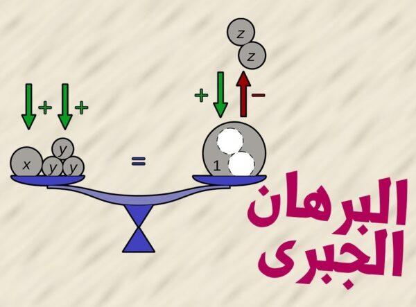 ورقة عمل درس البرهان الجبري رياضيات 1 - 1 نظام المسارات