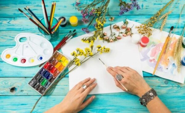 اختبار التربية الفنية الفترة الاولى الصف الرابع الابتدائي الفصل الاول